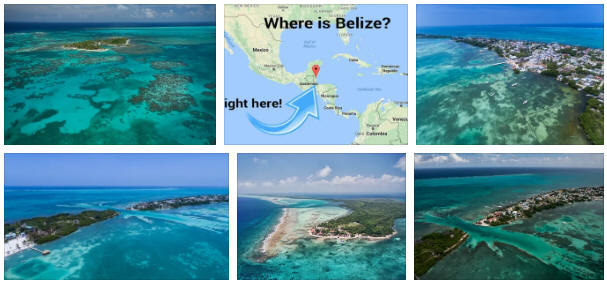 Belize: geography, map