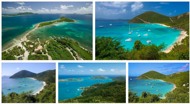British Virgin Islands: geography, map
