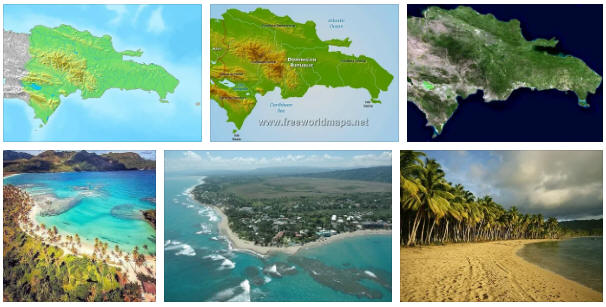 Dominican Republic: geography, map