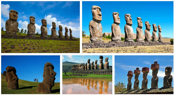 Easter Island Population, cities