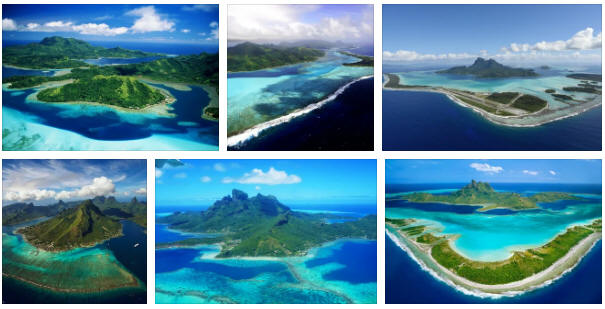 French Polynesia: geography, map