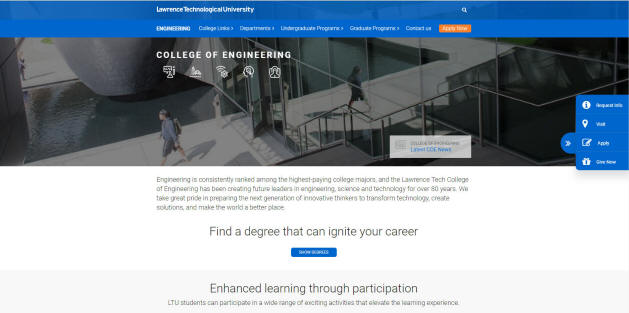 Lawrence Technological University Engineering School