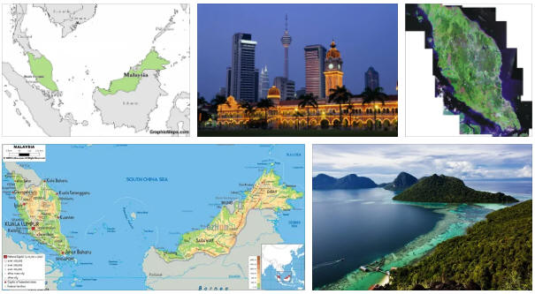 Malaysia: geography and map
