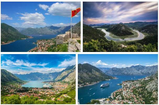 Montenegro: geography