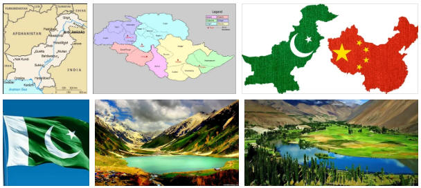 Pakistan: geography, map