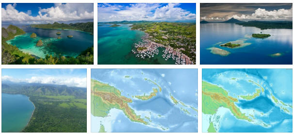 Papua New Guinea: Geography and Map