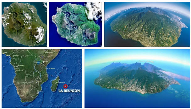 Réunion: geography and map