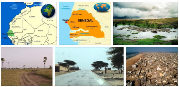 Senegal: geography, map