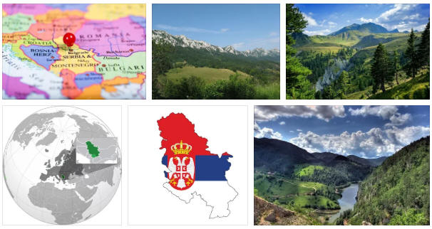 Serbia: geography and map