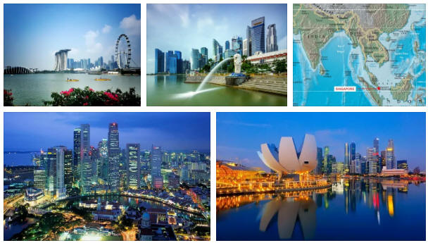 Singapore: geography, map