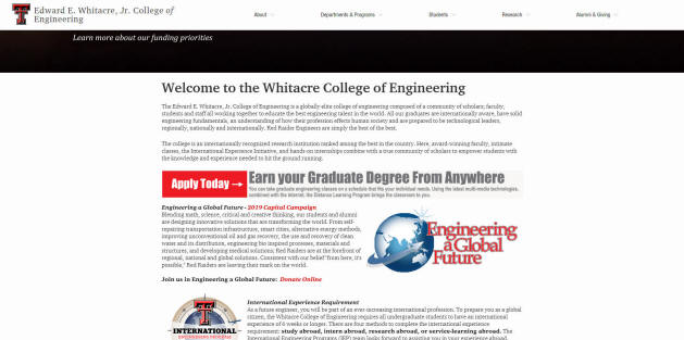 Texas Tech University Engineering School