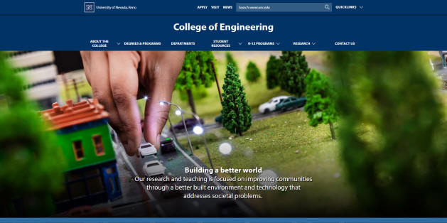 University of Nevada-Reno Engineering School