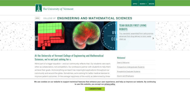 University of Vermont Engineering School